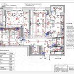 План выключателей дизайн проект Малиевой Татьяны ЖК Родионово Химки