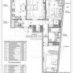 19 план отделки стен (Дизайн проект ЖК Рождественский)