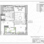 План подоконников в дизайн проекте Малиевой Татьяны в ЖК Савеловский Сити, Москва 2018