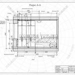 2 разрез А-А детской дизайн проект ЖК Пироговская Ривьера