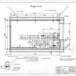 2 разрез спальни дизайн проект ЖК Пироговская Ривьера А-А