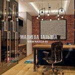Дизайн кабинета для подростка в стиле лофт