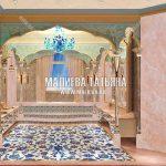 Женский санузел в арабском стиле