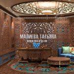 Дизайн кабинета в арабском стиле