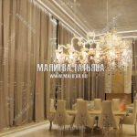 Дизайн проект белого зала в современном стиле