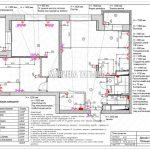 План розеток без мебели дизайн проект Малиевой Татьяны ЖК Родионово Химки