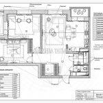 План отделки стен дизайн проект Малиевой Татьяны ЖК Родионово Химки