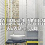 3д визуализация санузла Малиева Татьяна