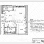 План монтажа в дизайн проекте Малиевой Татьяны в ЖК Савеловский Сити, Москва 2018