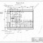 3 разрез А1-А1 детская комната вид сбоку ЖК Пироговская Ривьера