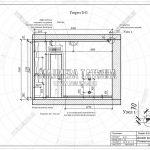 3 разрез Б-Б развертка гостиной дизайн проект ЖК Пироговская Ривьера