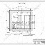 3 разрез развертка спальни гардеробной в ЖК Пироговская Ривьера Б-Б