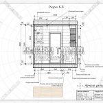 4 Разрез ванной комнаты дизайн проект ЖК Рождественский Б-Б