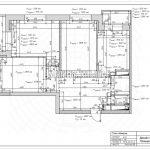 План обмеров дизайн проект Малиевой Татьяны ЖК Родионово Химки