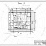 4 разрез Б-Б дизайн проект детская Малиевой Татьяны ЖК Пироговская Ривьера