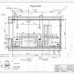 4 разрез вид сбоку спальни гардеробной ЖК Пироговская Ривьера В-В