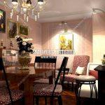 Дизайн проект квартиры в классическом английском стиле