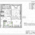 План мебели в дизайн проекте Малиевой Татьяны в ЖК Савеловский Сити, Москва 2018