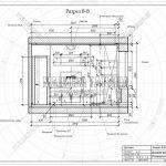 5 разрез В-В ЖК Пироговская Ривьера дизайн комнаты для ребенка