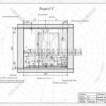 5 разрез гардеробной в дизайн проекте ЖК Пироговская Ривьера Г-Г