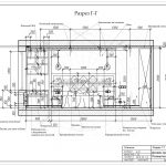 5 разрез спальной комнаты дизайн проект ЖК Рождественский Мытищи Г-Г