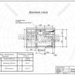 5 — План потолка в санузле (дизайн проект в Лобне, Чайковского)