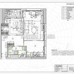 План мебели с размерами в дизайн проекте Малиевой Татьяны в ЖК Савеловский Сити, Москва 2018