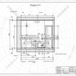 6 разрез развертка Г-Г детская ЖК Пироговская Ривьера