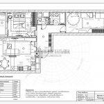 7 план мебели (Дизайн проект ЖК Эталон Сити)