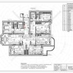 7. План мебели: дизайн проект квартиры в Люберцах 2019