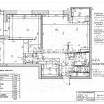 План перепланировки дизайн проект Малиевой Татьяны ЖК Родионово Химки