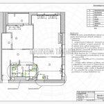 План привязки сантехнического оборудования и радиаторов в дизайн проекте Малиевой Татьяны в ЖК Савеловский Сити, Москва 2018
