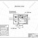 7 — План электрики и выключателей (Дизайнер интерьеров в Лобне 2018)