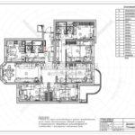 8. План мебели с размерами: дизайн проект квартиры в Люберцах 2019