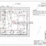 План освещения из дизайн проекта Малиевой Татьяны в Лобне 2019