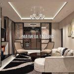 Дизайнерская гостиная в Савеловский City от Малиевой Татьяны