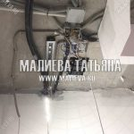 Электроразводка на потолке в спальне