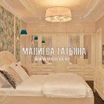 Женская спальня в светлых тонах в стиле прованс
