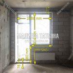Обмер балконного блока на кухне