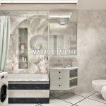 Ванная комната 3D в Савеловский Сити Малиева Татьяна
