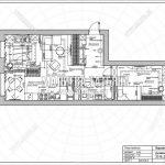 Планировка двухкомнатной квартиры в ЖК Пироговская Ривьера