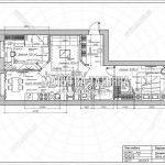Пример планировки двухкомнатной квартиры в Мытищах